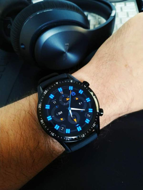 Nordic Hybrid watch face