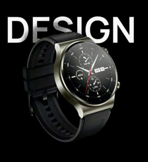 Huawei Ported watch face